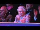 Русские ворвались и королева приподнялась в кресле Кремлёвская школа верховой езды в Виндзоре