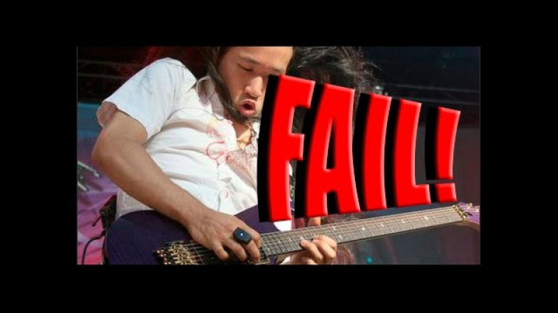 EPIC FAIL! Herman Li from Dragonforce Fail or Win