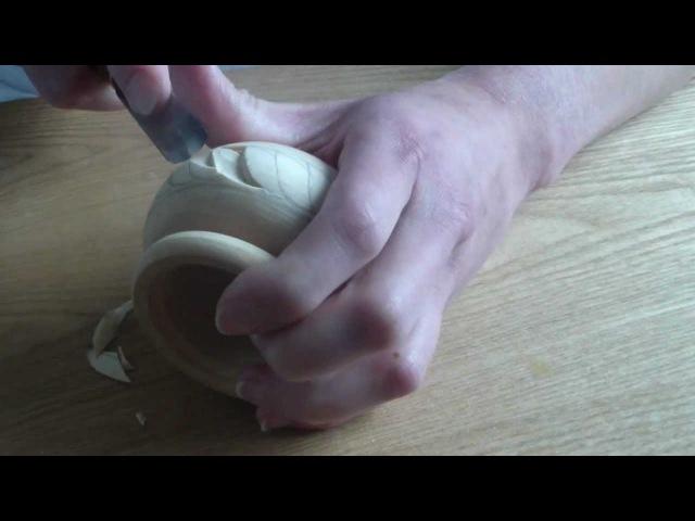 Как я вырезаю солонку со сложными листочками
