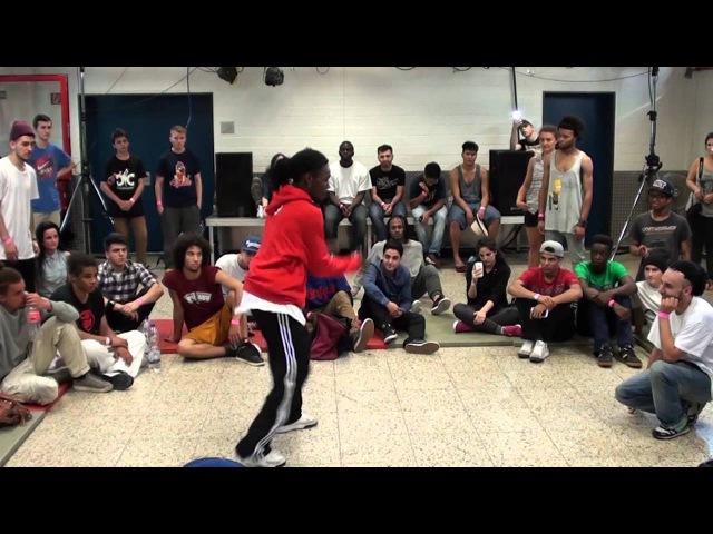 Trust da Beat vol.2 - 2013 - Halbfinale HipHop - Ukay vs. Franky D.