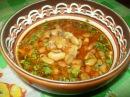 Боб чорба фасолевый суп болгарская кухня