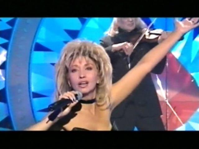 Ирина АЛЛЕГРОВА, СКРИПАЧ, Шоу-программа По лезвию любви, 2002