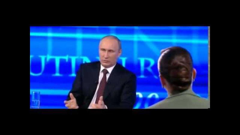 Путин Украине, вы что обалдели, сбрендили, против кого вы танки и пушки хоните