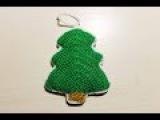 Вязаная елочка на Новый Год / Как связать игрушку крючком