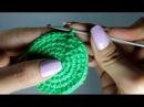 Крючок для начинающих - вязание круга
