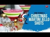 Christmas Jello Shots - How to make Layered Christmas Jello Shots Cocktail Recipe Drink (Popular)