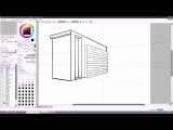 PAINT TOOL SAI 2 Perspective and Text options