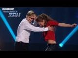 Дмитрий Щебет и Алиса Доценко - Страстный хип-хоп - Первый прямой эфир - Танцуют в ...