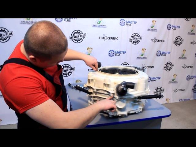 Замена подшипников в стиральной машине Indesit с клееным баком