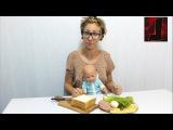 ✔ Кукла Беби Борн. Готовим бутерброды с героями игры Angry Birds - Видео для девочек. Baby born doll