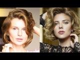 Скарлетт Йохансон ОБЪЕМНЫЕ ЛОКОНЫ САМА! ВСЕ САМА! Hairstyle Scarlett Johansson(KatyaWORLD)