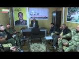 Встреча с самоуправлением лагеря беженцев города Шангала. Марат Мусин. (Anna News)