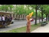 Maria J Nude in Public 5