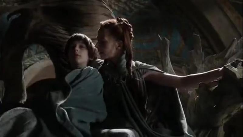 Robin Arryn and Lysa Arryn (Tully) - Breastfeeding