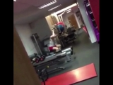 #First #day at the #gym, he really #needs a #private #trainer  www.funny12videos.com