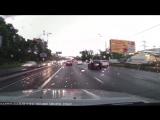 Авто видео регистратор Garmin GDR-35 вечерняя запись