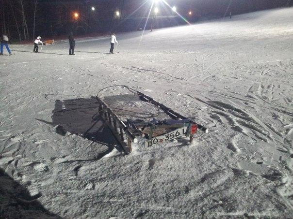 Несчастный случай в Харьковской швейцарии