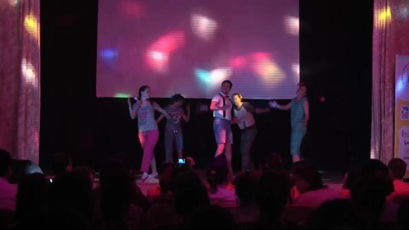 Танец Новая кукла Фестиваль творчества работающей молодежи Жара 2015