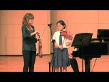 Nicola Benedetti Singapore Masterclass with Yuen Tin Wei from Dunman High School