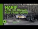 Casseurs, lacrymo: la manifestation anti loi Travail à Paris dégénère (IMAGES GOPRO)