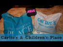 Carters and Childrens Place Clothing Haul 50 off sale!