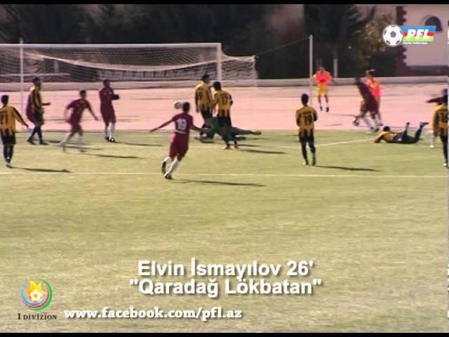 I Divizion, 20152016 mövsümü,IX tur,Qaradağ Lökbatan 2-0 MOİK