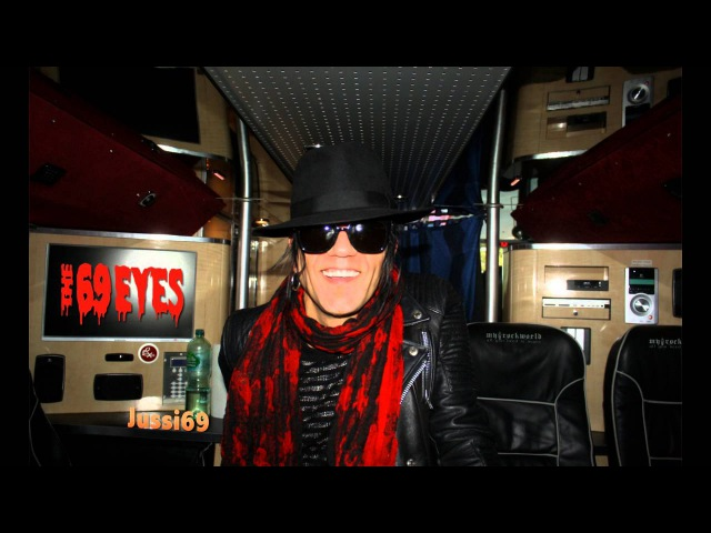 MyRockworld - all you need is music - The 69 Eyes exclusive Interview with Jussi69