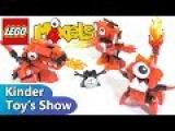 Лего Миксели 4 серия, огненные Инферниты: 41530 Мелтус, 41531 Фламзер, 41532 Бернард (LEGO Mixels)