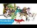 Обзор игрушек динозавров. Увлекательный рассказ о мире динозавров. Долина динозавров
