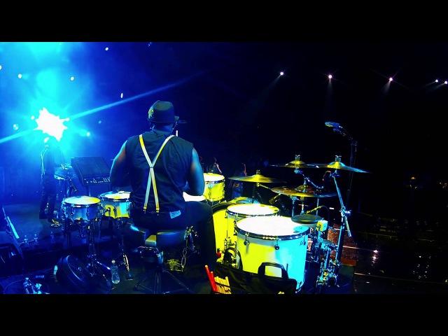 Lester Estelle Drum cam. Kelly Clarkson