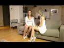 Blooper pervy uncle rolf with Gina Gerson Julie Skyhigh in minidress so kate 12cm