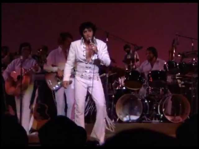 Elvis Presley Suspicious Minds Live in Las Vegas