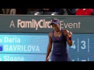 2016 Volvo Car Open Third Round | Дарья Гаврилова - Слоан Стивенс | WTA Highlights
