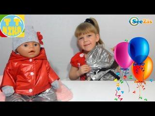 ✔ Кукла Беби Борн и Девочка Ника. Видео для детей. Подарок для игрушки. Игры для девочек. Baby Born