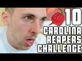 Eating 10 Carolina Reapers Challenge (Worlds Hottest Pepper) WheresMyChallenge