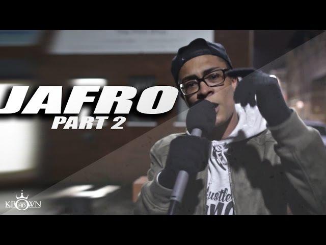 KrownMediaHD Jafro [Freestyle] Part 2 @Jafrooooo