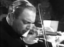 Isaac Stern playing Bach's Chaconne in D minor for solo violin Single File