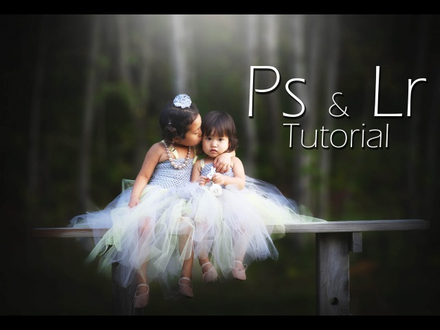 Photoshop cc Lightroom tutorial | Child Outdoor Portrait Edit