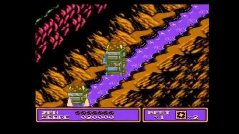 Прохождение Zen Intergalactic Ninja (NES) от Chocopie!