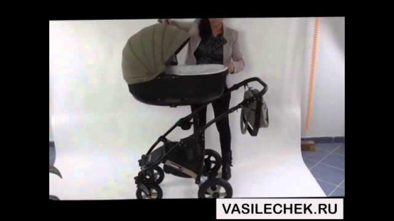 Camarelo Sevilla 3 в 1 и 2 в 1 детская коляска видео обзор на vasilechek.ru камарело севилья севилла