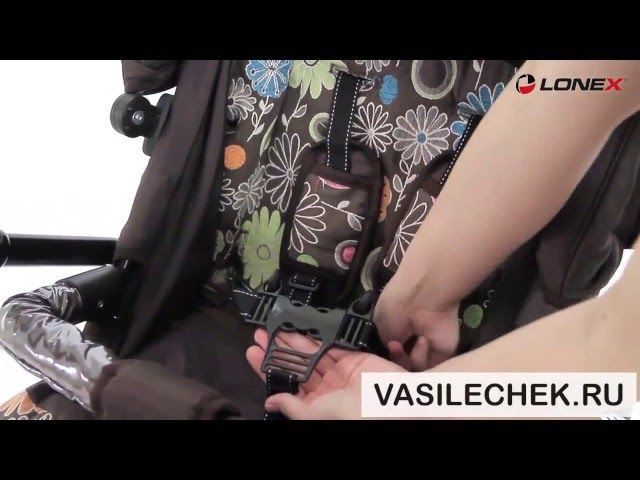 Lonex Speedy V light детская коляска 3 в 1 (2 в 1) видео обзор vasilechek.ru лонекс спиди ви лайт