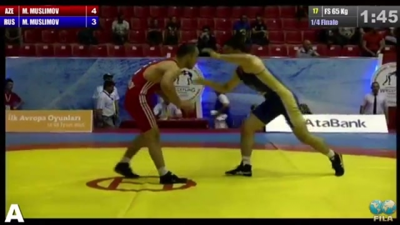 GGP-2014 - Magomed Muslumov - Murtuz Muslumov (RUS) FS 65 kg 1-4 final match