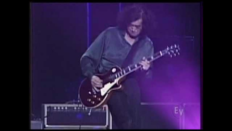 Custard Pie-Black Dog/Jimmy Page Robert Plant_13.Feb.1996@Tokyo Budokan