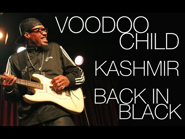 Two Tone Sessions Eric Gales Voodoo Chile Kashmir Back in Black