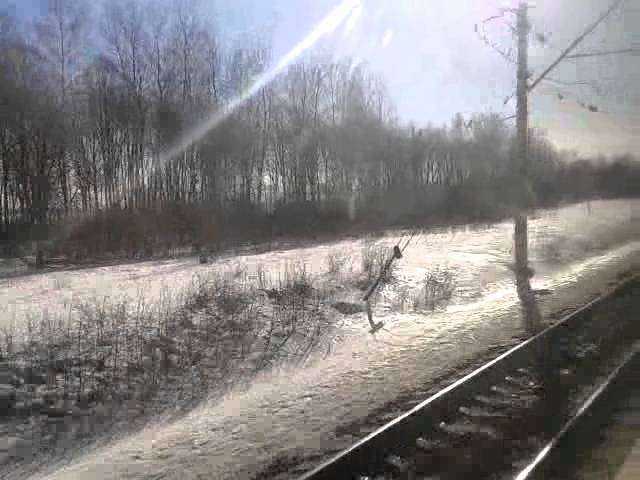 146 км - Узуново на ЭМ2-021 (ЭР2-924, ТЧ-31 Домодедово)
