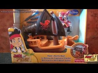Джейк и пираты Нетландии Парусная лодка Крюка Jake and the Never Land Pirates Hook's Battle Boat