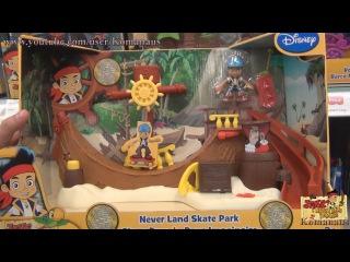 Джейк и пираты Нетландии скейт парк Jake and the Never Land Pirates Skate Park