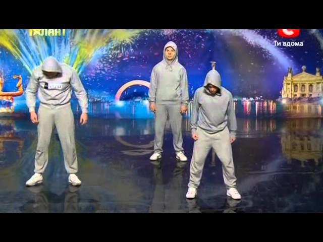 Украина мае талант 4 / Киев / Crazy Jump 100%
