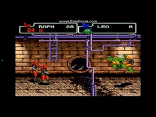 Обзор игр Сеги 2 Черепашки Ниндзя