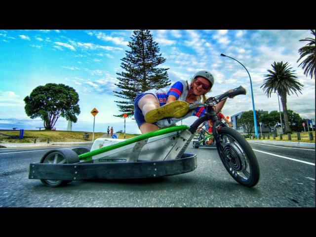 Motorized Drift Trike and Blokart in 4K!